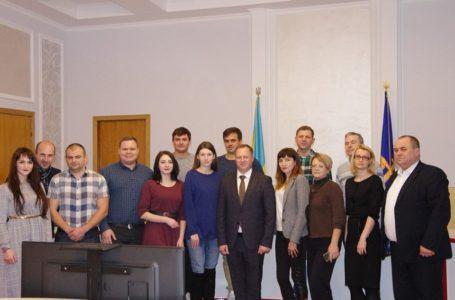 З нагоди професійного свята керівник області привітав медійників (Фото)