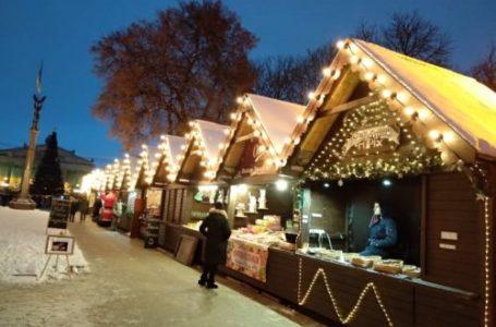 Оновлена ялинка та гірка для сноутюбів: Тернопіль готується до свят (Фото)