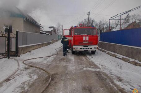 На Борщівщині 21-річний хлопець виніс чоловіка з палаючого будинку (Фото)