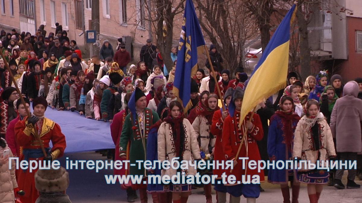 Понад п'ять тисяч тернополян і хмельничан зустрілись на Збручі (Відео)