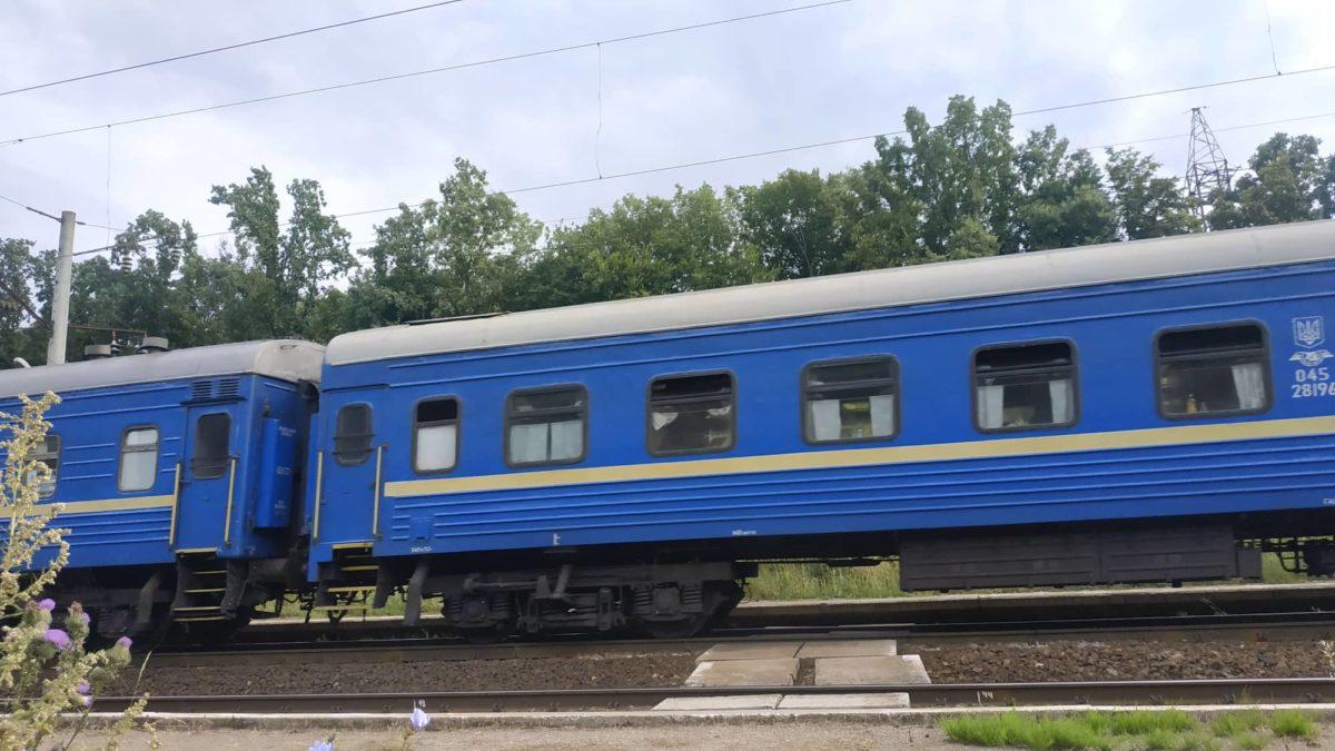 Пасажирський потяг, що збив чоловіка на Зборівщині, знайшли у Львові (Відео)