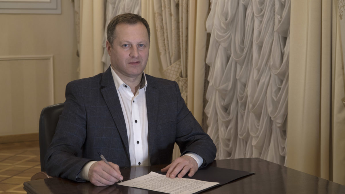 Голова Тернопільської ОДА подав у відставку