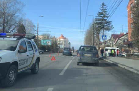 На Бандери в Тернополі збили пішохода (Фото)