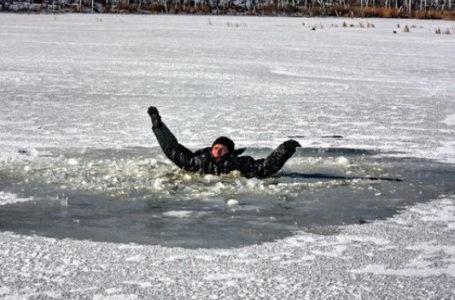 У Зборівському районі рибалка провалився під лід