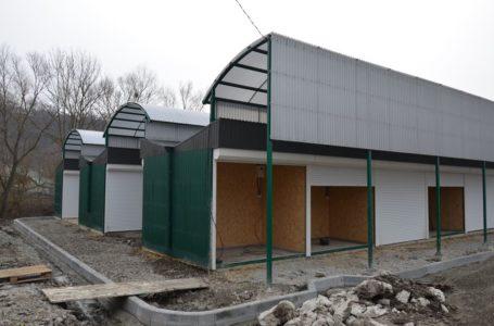 У Чорткові завершують будувати новий ринок на 100 торгових місць (Фото)
