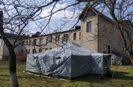 На Тернопільщині рятувальники створили пункти прийому хворих на COVID-19 (Фото)