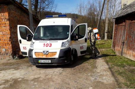 Рятувальники показали, як роблять дезінфекцію в Монастириськах (Відео)