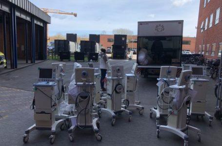 """Тридцять апаратів ШВЛ і медичне обладнання передає лікарням Тернопільщини """"Bevar Ukrainе"""""""