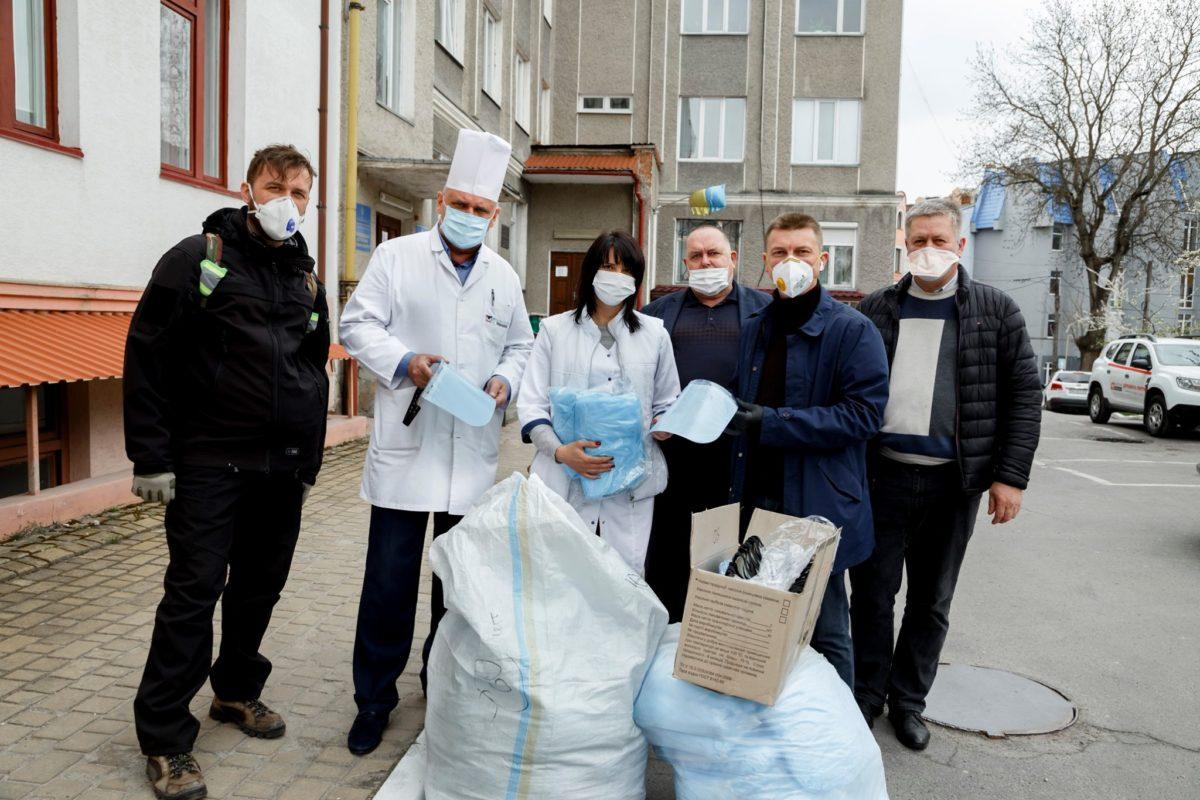 Волонтери оприлюднили список потреб лікарів Тернопільщини