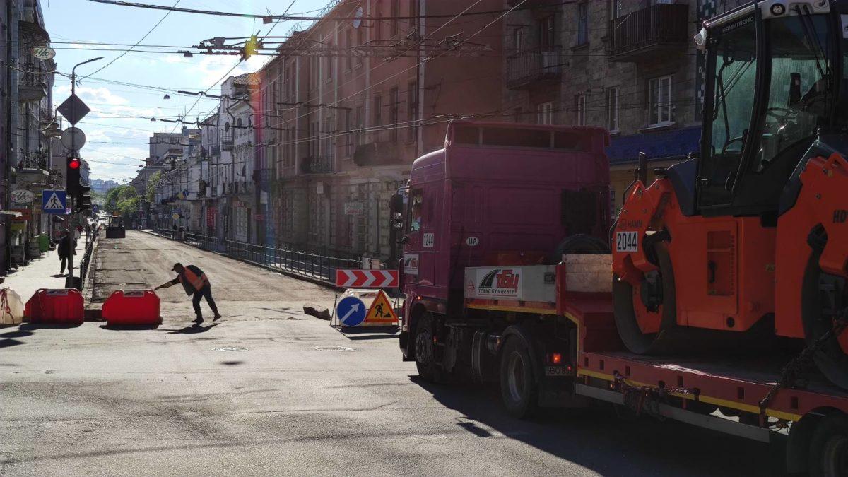 Після ремонту дороги на вулиці Руській відновили рух транспорту