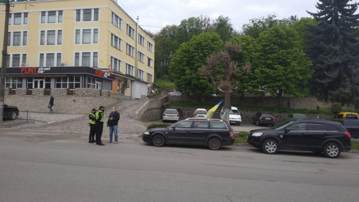 Підприємці Кременеччини влаштували автопробіг (Відео)
