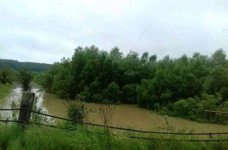 На Монастирищині ріки виходять з берегів (Фото)