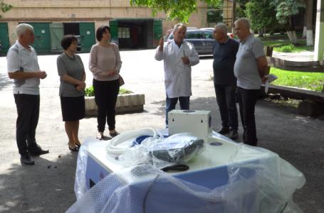 Підгаєцька лікарня отримала сучасне медобладнання від компанії «Контінентал» (Відео)