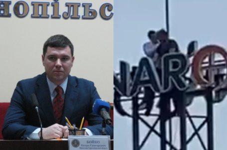 Самогубцю на Збаразькому кільці врятував прокурор області
