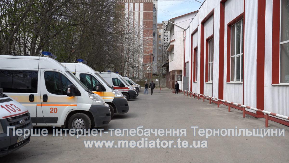 Коронавірусом інфікувались 26 працівників швидкої у Тернополі
