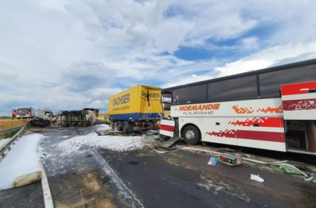 Автобусом, який потрапив у ДТП в Польщі кермував тернополянин