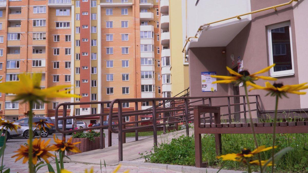 На вулиці Тролейбусній «Тернопільбуд» зводить сучасний житловий комплекс (Відео)