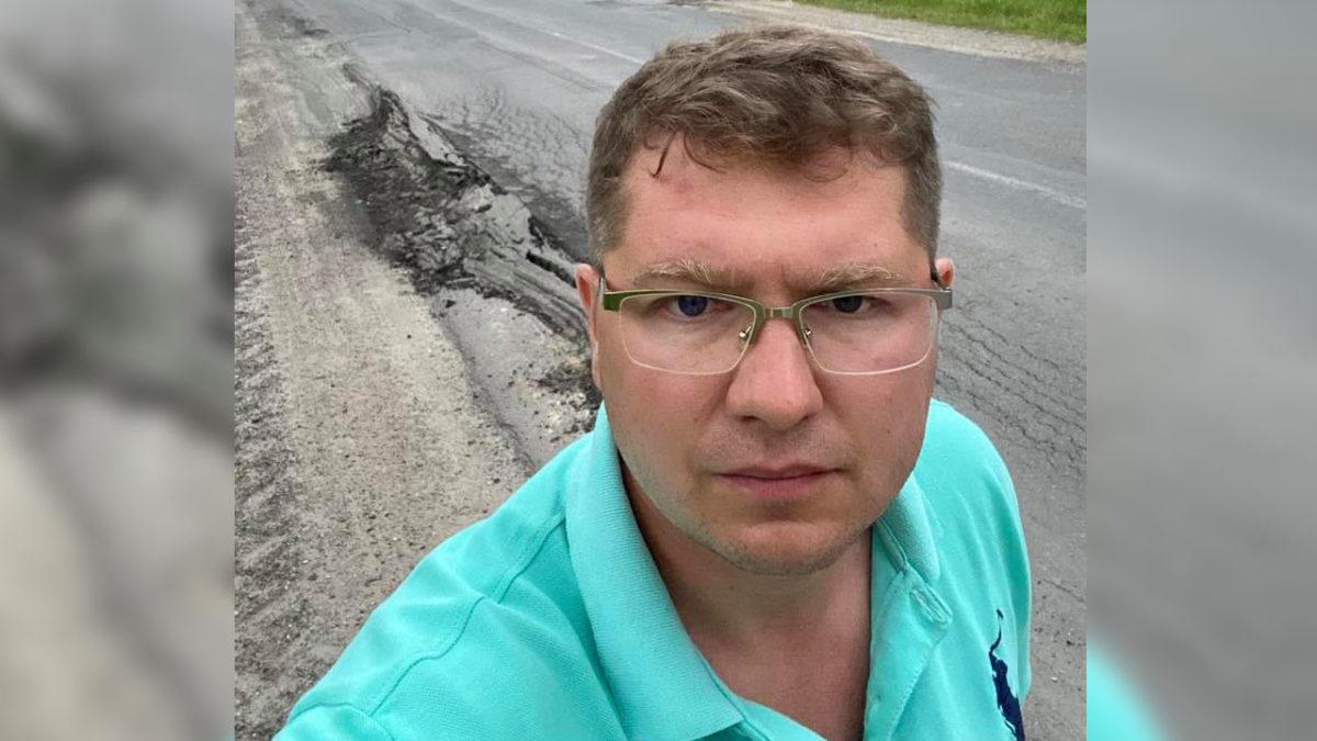 У селах Тернопільщини дороги державного значення у жахливому стані (Фото)