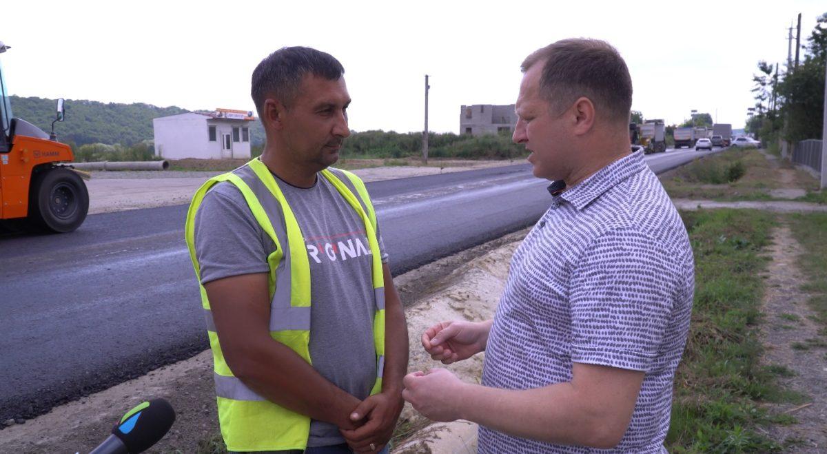 «Плани реалізовуються», – Ігор Сопель про ремонт дороги М-19 (Відео)