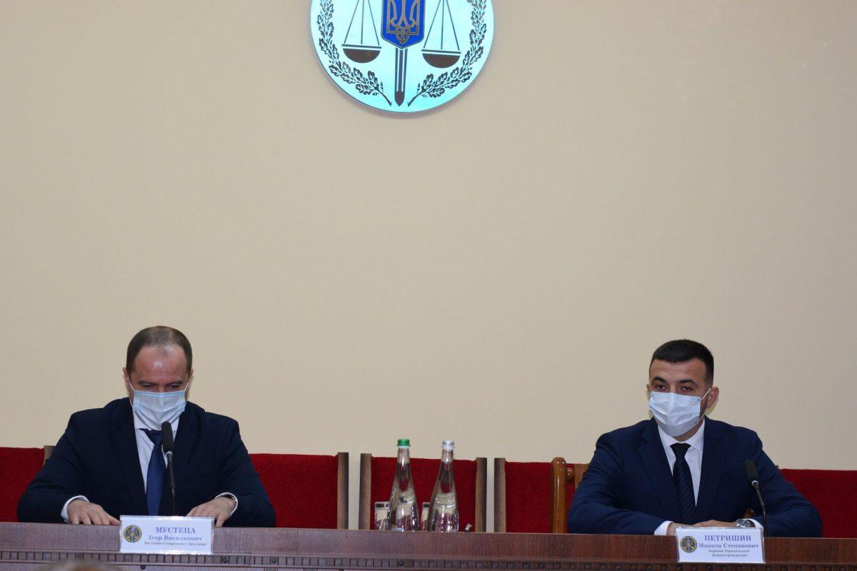 На Тернопільщині прокуратуру очолюватиме новий керівник (Фото)