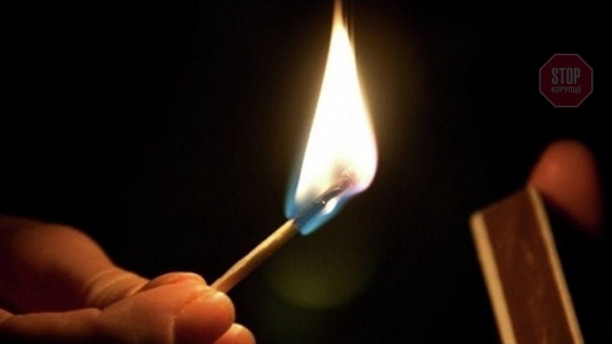 Протест у Гусятині: чоловік облив себе бензином і підпалив