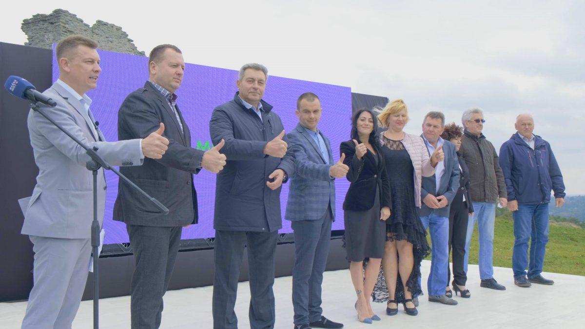 У Кременці представили кандидатів в депутати від партії «ЗА МАЙБУТНЄ» (Відео)