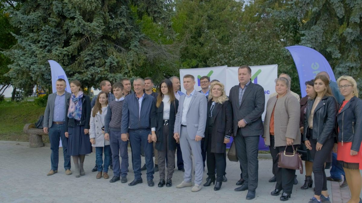 В Почаєві партія «ЗА МАЙБУТНЄ» представила кандидатів у депутати (Відео)