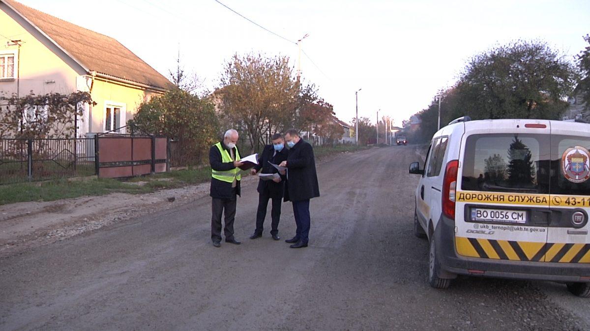 У Хоросткові за сприяння Ігоря Сопеля ремонтують дорогу на вулиці Руська (Відео)