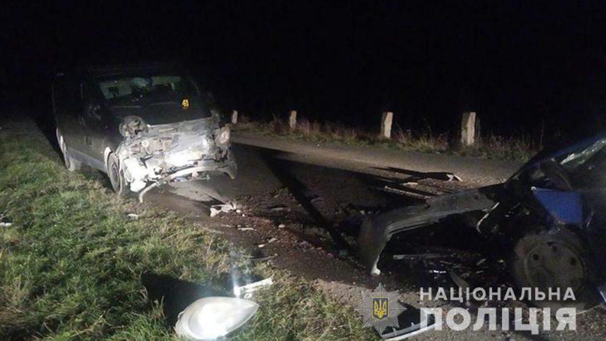 ДТП на Тернопільщині: забої та переломи отримали троє пасажирів (Фото)