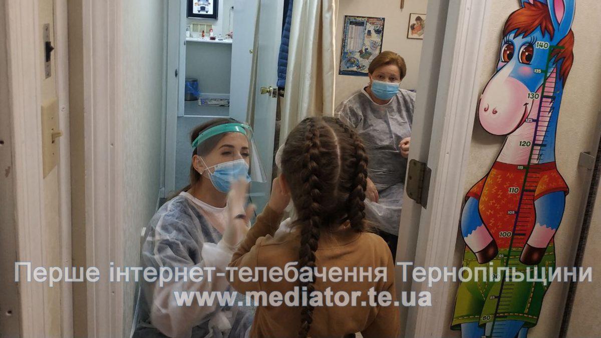Клініка на колесах. Жителів Хоросткова безкоштовно обстежили медики (Відео)