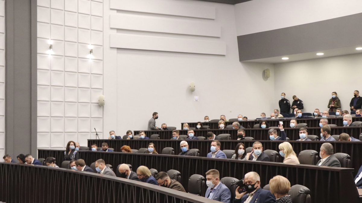У Тернополі почалась перша сесія новообраної обласної ради (Наживо)