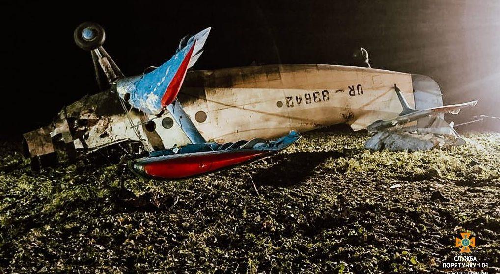 Поблизу села на Козівщині впав літак. Пілот загинув (Фото)