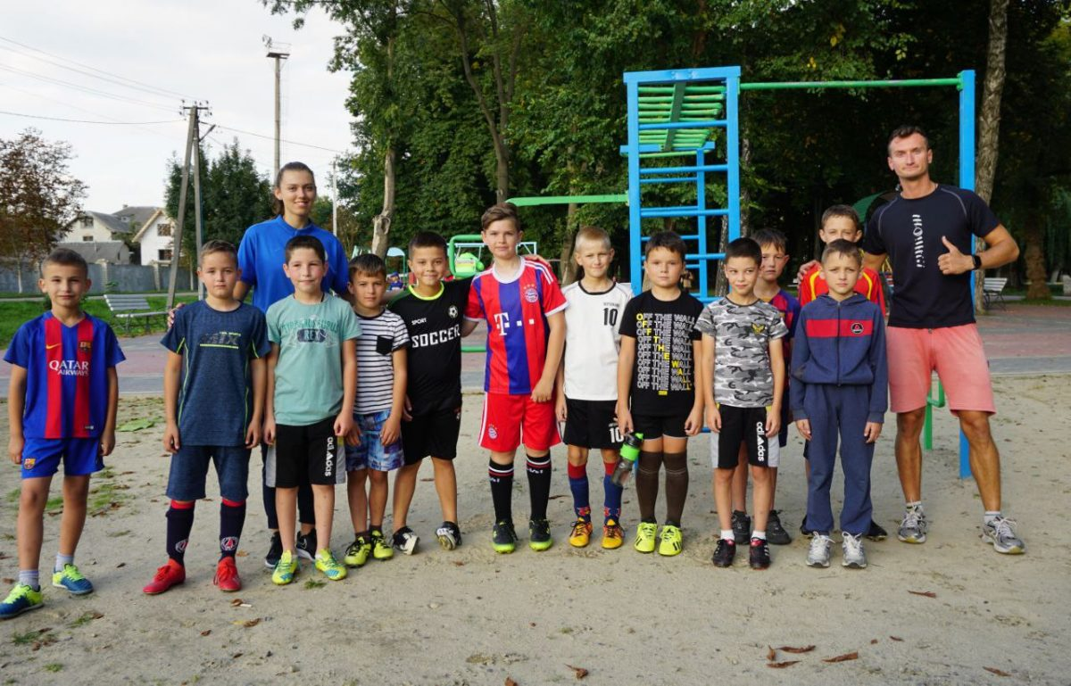 В Україні реалізовують проєкт «Активні парки – локації здорової України»