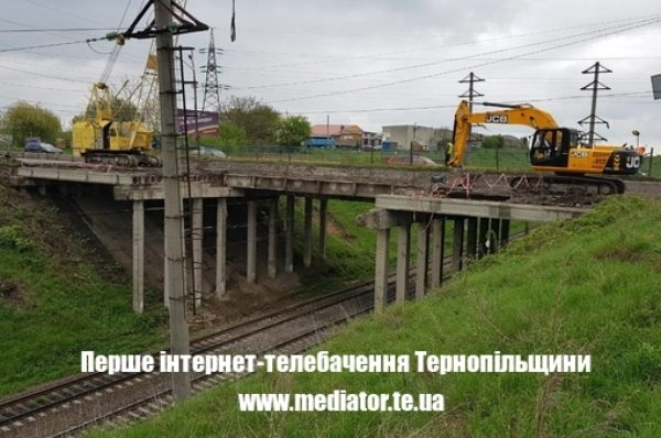 За ремонтом Гаївського мосту у Тернополі можна стежити онлайн