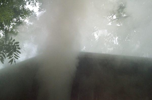 На Теребовлянщині блискавка влучила у будинок (Фото)