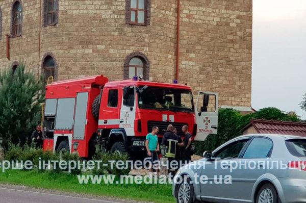 У ресторані поблизу об'їзної Тернополя пожежа. Дим видно з міста (Фото)