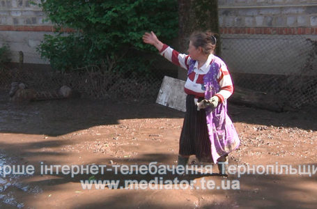На Тернопільщині затопило два села (Відео)