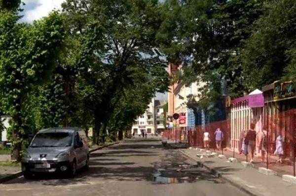 Через ремонт частину однієї з вулиць Тернополя перекриють на два місяці
