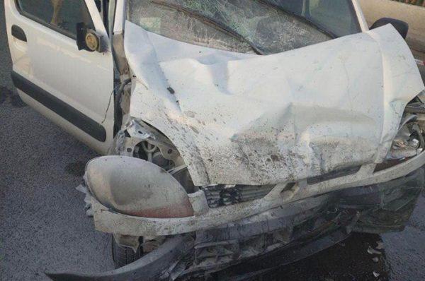 Водій зафільмував момент аварії, у яку потрапив на Гаївському мості (Відео)