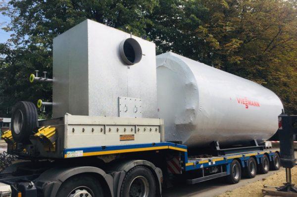 У Тернополі гарячу воду подаватимуть цілодобово – з Німеччини привезли високоефективні котли