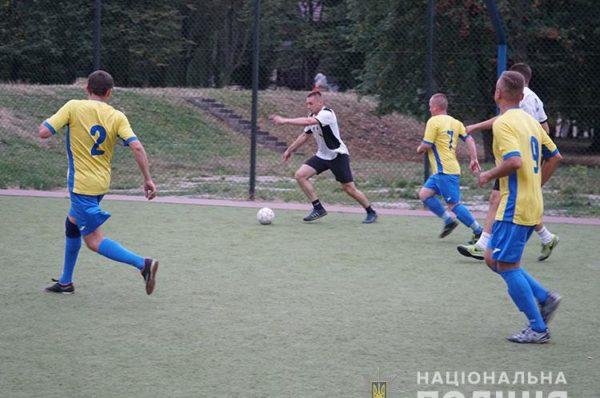 Футбольний матч пам'яті загиблих правоохоронців відбувся у Тернополі (Відео/Фото)