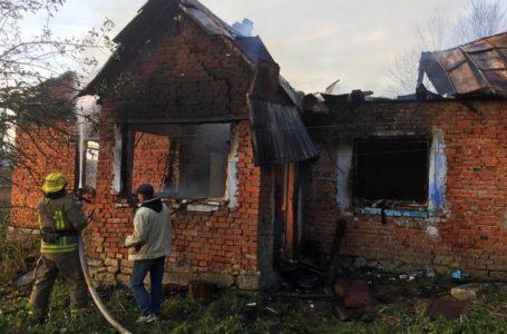 На Бережанщині сільський голова врятував 76-річну жінку від пожежі