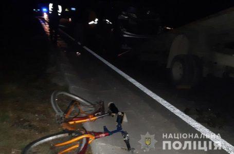 На Тернопільщині під колесами мікроавтобуса загинув велосипедист