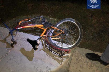 На Тернопільщині за вечір – дві аварії з велосипедистами. Чоловіка збили насмерть