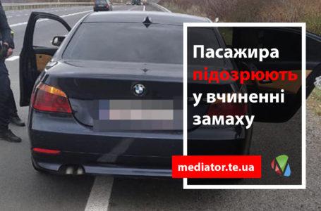 На Тернопільщині затримали авто з арсеналом зброї