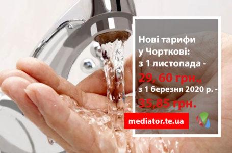 Вода у Чорткові подорожчає до 35 гривень