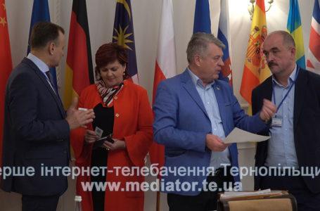 Закордонні делегати вивчали потенціал Тернопільщини на засіданні Міжнародного трейд-клубу (Відео)