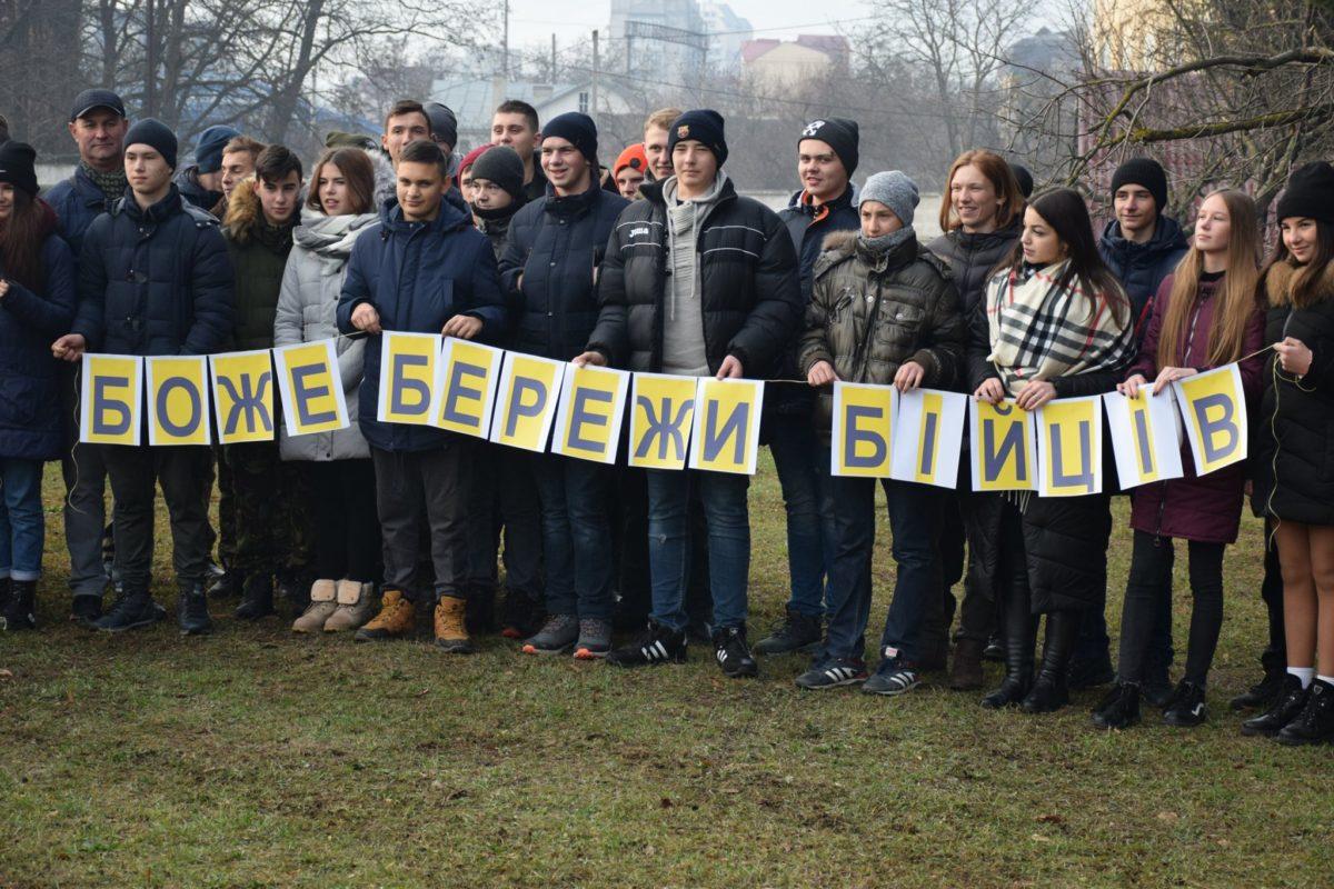 «Бачили гармати та фільми про захисників»: школярі відвідали військову частину Тернополя (Фото)