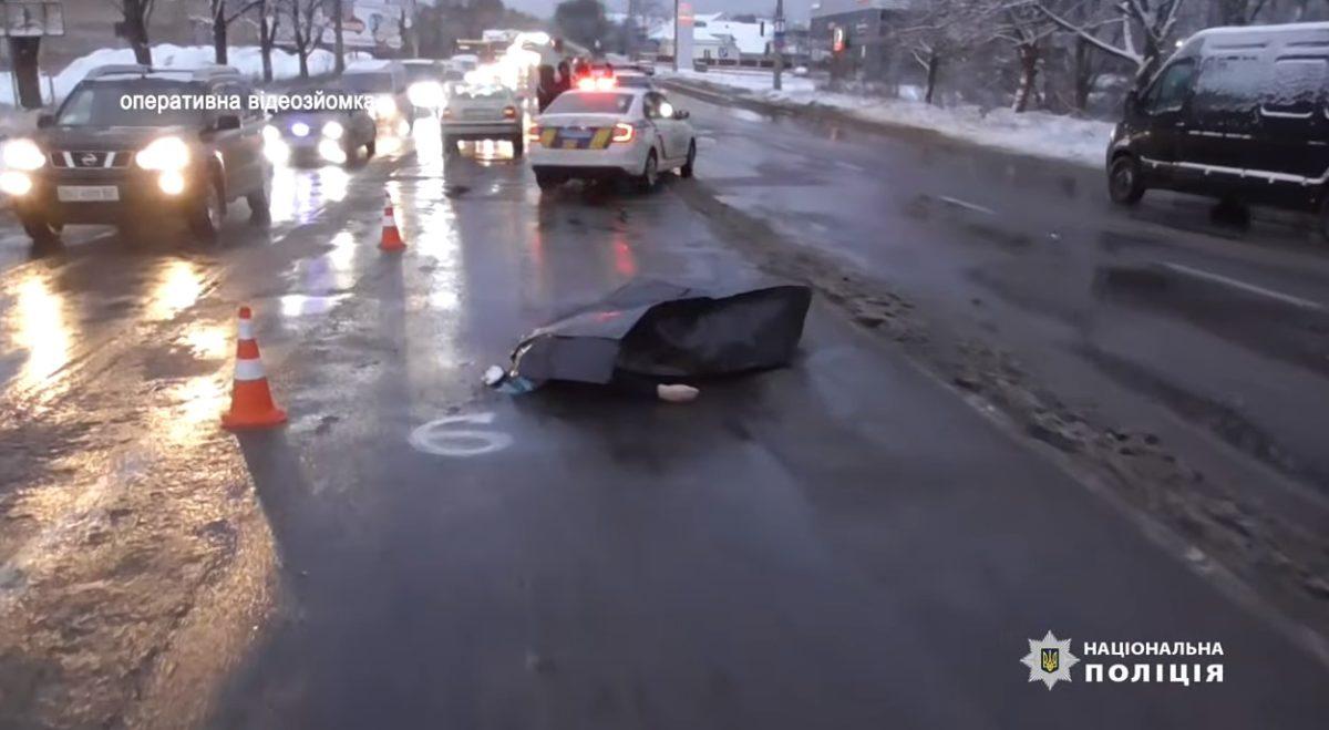В Березовиці – смертельна ДТП. Жінку збили на пішохідному переході (Відео)