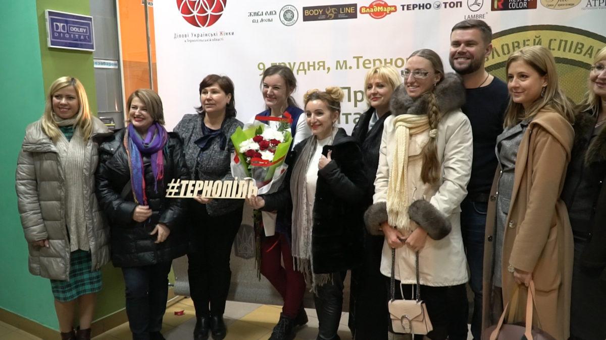 Показом фільму «Соловей співає» у Тернополі спростували мовні міфи (Відео)